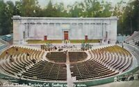 BERKELEY CA – Greek Theatre Seating Capacity 10,000