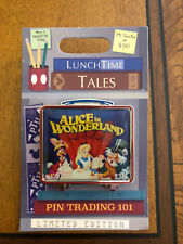 Disney Pin of the Month Lunch Time Tales Alice In Wonderland LE 1500