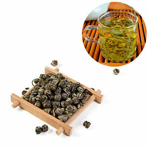 China Natural Organic Rolled Jasmine Green Tea Called Dragon Pearl Tea