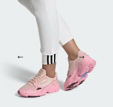 ADIDAS WOMEN'S FALCON SNEAKERS ICE PINK UK 5 EURO 38