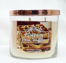 1 Bath & Body Works Pumpkin Pecan Waffles 3-Wick Candle Large 14.5 oz