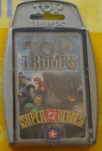Top Trumps, Super DC Heroes 1, NEU & OVP