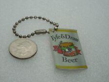Fife & Drum Beer - Genesee Beer Hang Tag Advertising Keychain