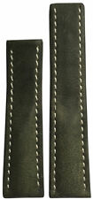 22x20 RIOS1931 for Panatime Olive Vintage Watch Strap For Breitling Deploy