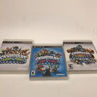 Playstation 3 SKYLANDERS Swap Force Trap Team Giants Kids Games Only PS3 Lot