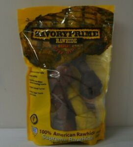 For Pet Savoryprime Rawhide 100% Beef Hide Assorted Flavored Value Pack x 5 pcs