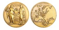 A270, France, 1949 Bronze Medal by Dropsy, European Council, Turkey, Norway