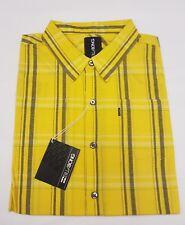 Boys billabong yellow combust shirt age 10,12,14,16 years