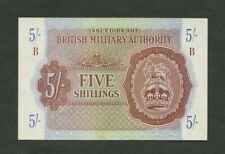 More details for british military authority  5 sh  wwii  krause m4  good ef  banknotes