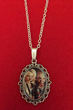 Tiffany and Chucky from Bride of Chucky/Childs Play Horror Cameo Necklace