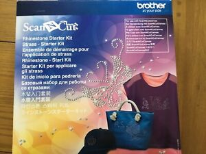 CRAFT CLEAROUT - BROTHER SCAN N CUT RHINESTONE STARTER KIT - NEVER OPENED