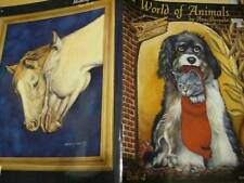 World Of Animals Painting Book #4- Bernabe, Dogs, Cats, Dolphins, Horses