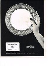 PUBLICITE  1966   BERNARDEAU  porcelaine