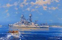 """""""USS Arizona"""" 1936 Battleship Image by James Flood"""
