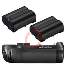 Vertical Battery Grip Pack for Nikon D800 D800E +2x EN-EL15 DSLR Camera MB-D12