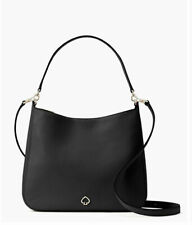Kate Spade Kailee Medium Double Compartment Shoulder Bag Black Retail $399 NWT