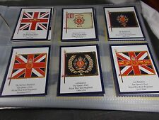 1st Series of 6 INFANTRY REGIMENTAL COLOURS THE QUEENS OWN WEST KENT Trade Cards