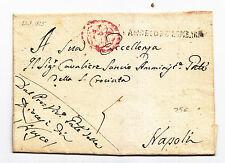 Y571-REGNO DI NAPOLI-PREF.S.ANGELO DEI LOMBARDI X NAPOLI 1825