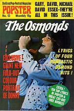 The Osmonds Popster Magazine No. 13   Donny Osmond