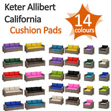 Foam Cushion Pads For Keter Allibert California Rattan Garden Furniture Sofa Set