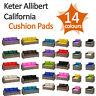 Foam Cushion Pads For Keter Allibert California Rattan Garden Furniture Sofa Set