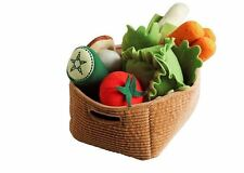 Ikea 14 pieces shopping basket vegetables set food Kid Toy Boy Girl DUKTIG –NEW
