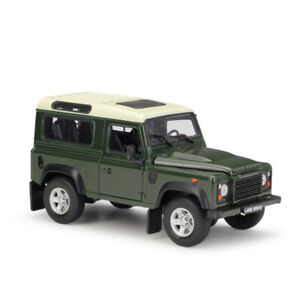 WELLY 1:24 SUV Diecast Alloy Static Car Model For Land Rover Defender JD no box
