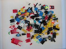 Lego – Trabajo Lote de piezas y accesorios – Mezclados Minifigura Paquete De Piezas