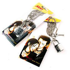 NANA Cosplay Ai Yazawa Punk Lovers Couples Ren Lock + Key Necklace Pendant