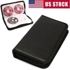 80 CD DVD DISC Holder Album Storage Case Storage Holder CD Sleeve Wallet Ideal