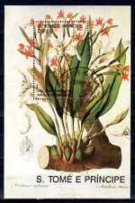 Fleurs - St Thomas et prince (149) bloc oblitéré