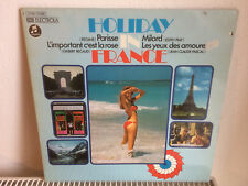 Holiday in France - LP Vinyl - Top Zustand, Gilbert Becaud, Edith Piaf, Regine..
