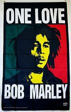 Bob Marley One Love Flag 5' X 3' Deluxe Concert Banner
