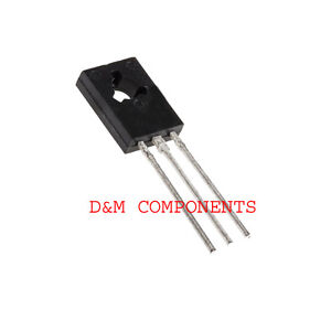 BD135,BD136,BD137,BD138,BD139,BD140,Medium Power Transistors,Pack of: 2, 5 or 10