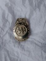 AAA Patrol Service Lapel Hat Jacket Pin Triple A Auto Club Vintage