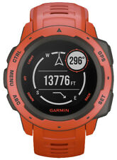 Garmin Instinct Men's  Running Watch - Flame Red - 010-02064-02