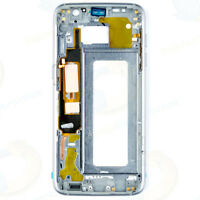 USA Black Samsung Galaxy S7 Edge G935A G935T Back Housing Bezel Mid Middle Frame