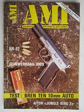 "AMI N° 61 /FR-F2/ FEINWERKBAU 300S/ BREN TEN 10 mm AUTO/ AITOR ""JUNGLE KING 2"""