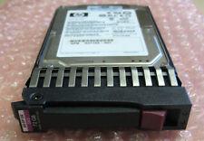 """HP 512743-001 72GB 15K 6G Dual Port DP 2.5"""" SAS HDD 512545-B21 Caddy ProLiant G6"""