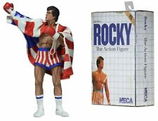 Rocky The Action Figure Video Game Style NECA NIB Reel Toys NIP MGM Boxing 2014