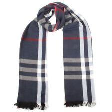 Sciarpe, foulard e scialli da donna blu scozzese