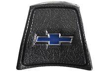 69-72 Chevy C10 Truck Black Original Steering Wheel Horn Button w/ Bowtie Blazer