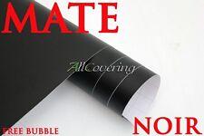 Film NOIR MATE 30cm X 152cm MAT covering vinyle thermo adhésif autocollant