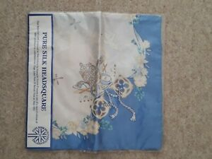 pure silk head scarf limited edition commemorate  pope john paul 11 may 1982