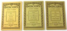 Lot of 3: Mercury Publishing Co. 1930- March, Sept, Dec, Rosicrucian/Esoteric