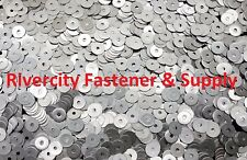 (100) #8x3/4 Fender Washers Stainless Steel 8 x 3/4