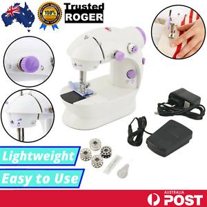 Electric Mini Sewing Machine DIY Multi-Function Portable Hand Held Desktop Home