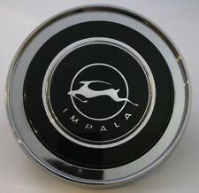 Steering Wheel Chrome Horn Ring Button Center Cap Assembly For 1964 Chevy Impala