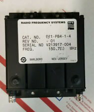 VHF Compact Preselection Filter RFS 911-PB4-1-4