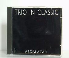 CD Trio in Classic Abdalazar Tonstudio Bauer 1990